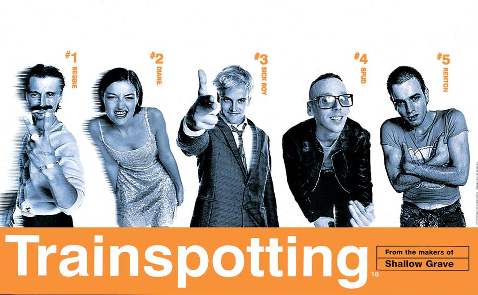 Trainspotting Poster uk Trainspotting Movie Poster